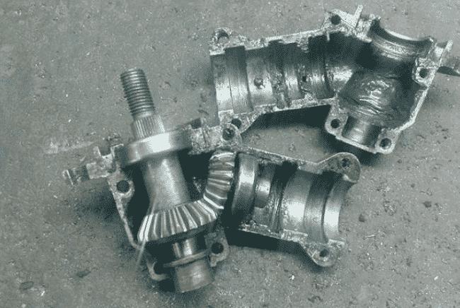 Виды редукторов для мотокос