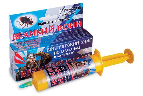 Великий воин - эффективное средство от муравьев в огороде